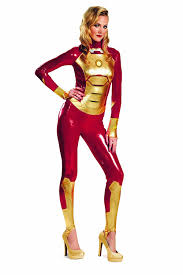 Womens Costumes Amazon Com Disguise Marvel Iron Man 3 Mark 42 Lycra Sassy Womens