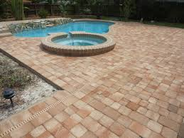 Thin Patio Pavers Antique Thin Pavers Brick Delightful Outdoor Ideas