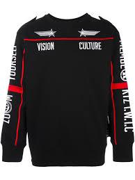 ktz monogram inside out sweatshirt white u0026black men clothing ktz
