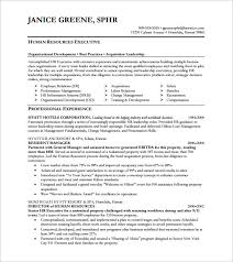 Resume For Spa Manager Design Cv Template Executive Resume Word Latest Executive Civil