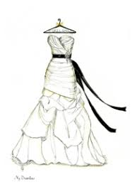 drawing wedding dresses wedding dress sketch gallery dreamlines sketches