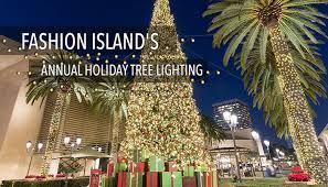 fashion island u0027s annual holiday tree lighting visit newport beach