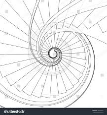 Spiral Staircase by Spiral Staircase Vector 09 Stock Vector 264290492 Shutterstock