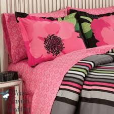 Girls Pink And Black Bedding by Teen Bedding Sets For Girls Pink Black Flower Teen Kid