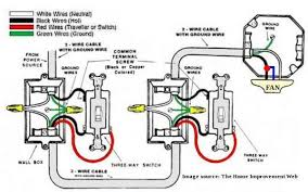 how to wire a ceiling fan with 2 switches how to wire ceiling fan with two wall switches integralbook com