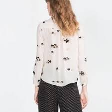 elephant blouse 51 zara tops zara elephant blouse from belinda s closet