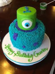 monsters inc birthday cake monsters inc cakes toppers aiden s 1st birthday