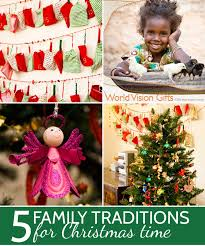 five family traditions for time
