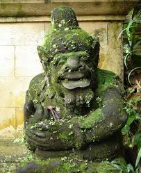 balinese goblin a statue that would be right at home in the