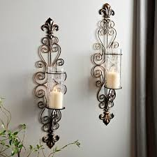 Candle Wall Sconces Wrought Iron Sconces Wall Sconces Kirklands