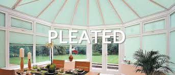 pleated conservatory blinds roof u0026 side blinds conservatory
