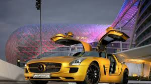 mercedes sls amg edition mercedes sls amg desert gold released