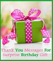 birthday gifts for from thank you messages thank you messages for birthday gift