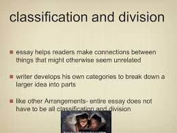 division classification essay samples essay classification proposal essay topics new college essays classification division essay examples division essay outline