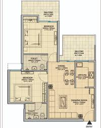 1300 sq ft apartment floor plan 3 bhk 1300 sq ft apartment for sale in gaur atulyam at rs