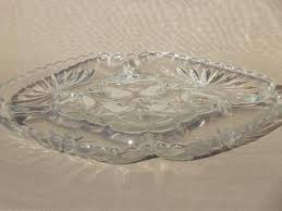 deviled egg serving tray square glass deviled egg plate vintage anchor hocking glass