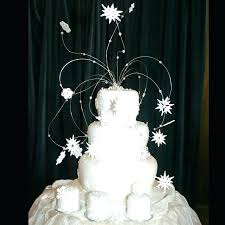 snowflake cake topper edible crystals for cakes snowflake cake topper