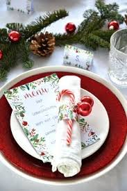 Christmas Table Decoration Printables by Free Printable Christmas Place Cards Printables Pinterest