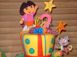 creation station dora birthday cake ideas birthday party