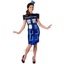 doctor who tardis dress costume lady tv fancy dress