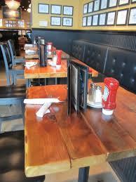 Restaurant Table Tops by Restaurant Table Tops Reclaimed Wood Plank Pedestal Tops