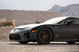 lexus vossen wheels marvelous black lexus lfa sitting on bronze vossen wheels feast