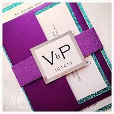 Purple Wedding Invitations Purple And Teal Wedding Invitations Purple And Teal Wedding