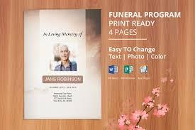 printable funeral program templates printable funeral program template obituary template editable