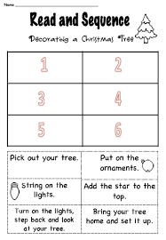 Decorate Christmas Tree Worksheet by Christmas Writing Activities For Kids