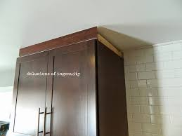 Crown Moulding Kitchen Cabinets by Delusions Of Ingenuity Onward Kitchen Soldiers Crown Royal
