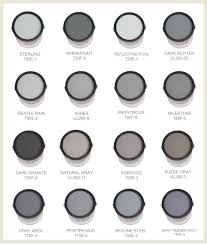 some of the best grays and blues are made by behr this chart
