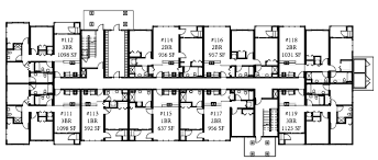 building plans apartment building plans