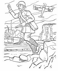 armed forces day coloring page us army world war i battlefield