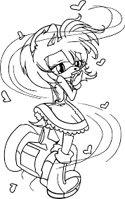 amy rose turn coloring page wecoloringpage