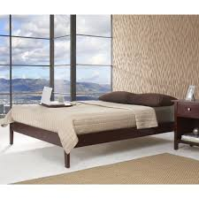 Simple Wood Platform Bed Plans by Best Collections Of Simple Wood Bed Frame All Can Download All