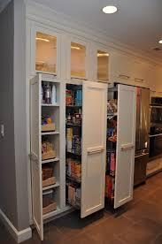 pantry ideas for kitchens pull out pantries this homeowner likes the full pull outs much