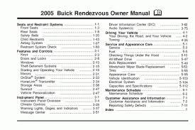 2005 buick rendezvous fuse box diagram vehiclepad 2005 buick