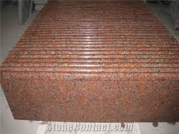 g562 maple red granite step red granite stone stairs step china