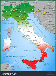 Map Of Italy by Map Of Italy And Neighbouring Countries Deboomfotografie