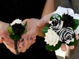 Duct Tape Flowers Vases And Pens Duct Tape Boutonniere And Corsage For Homecoming If I Were