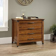 sauder 2 drawer file cabinet sauder carson forge washington cherry lateral file cabinet with 2