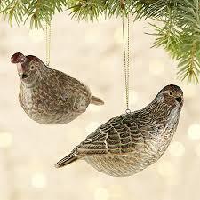 ceramic bird ornaments crate and barrel