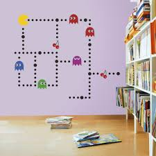 Mario Bros Wall Stickers Pacman Wall Stickers Decals
