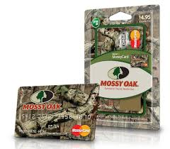 mossy oak announces new prepaid debit card