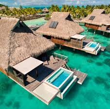 House Over Water Conrad Hotels And Resorts Debuts Overwater Villa Luxury In Bora Bora