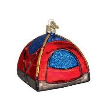 amazon com old world christmas dome tent glass blown ornament