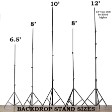 pipe and drape backdrop background backdrop stand support kit 6 5ft x 10ft efavormart