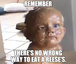 Reese Meme - eating a reese s imgflip