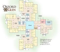 senior living floor plans oxford glen memory care at sachse