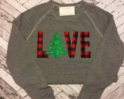 christmas sweatshirt etsy